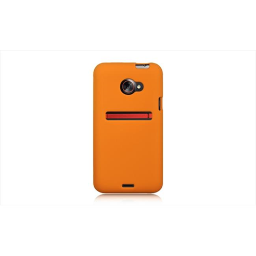 DreamWireless SCHTCEVO4GOR-PR HTC Evo 4G LTE Premium Skin Case - Orange