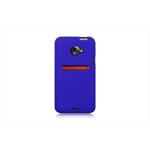 DreamWireless SCHTCEVO4GBL-PR HTC Evo 4G LTE Premium Skin Case - Blue