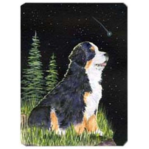 Carolines Treasures SS8468MP Starry Night Bernese Mountain Dog Mouse Pad