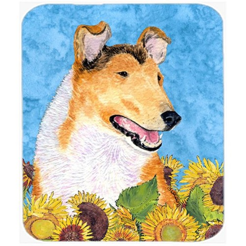 Carolines Treasures SS4239MP Collie Smooth Mouse Pad Hot Pad or Trivet