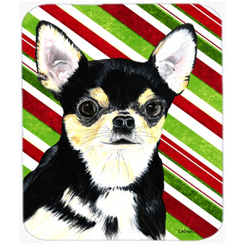 Carolines Treasures SC9359MP Chihuahua Candy Cane Holiday Christmas Mouse Pad Hot Pad or Trivet