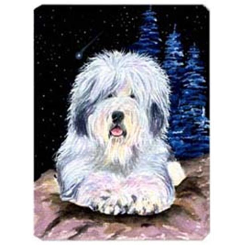 Carolines Treasures SS8443MP Starry Night Old English Sheepdog Mouse Pad