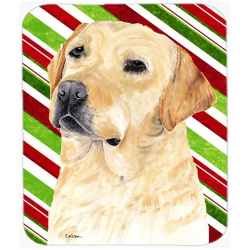 Carolines Treasures SC9336MP Labrador Candy Cane Holiday Christmas Mouse Pad Hot Pad or Trivet