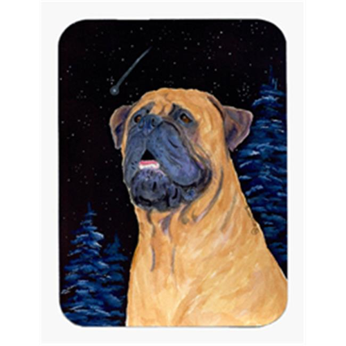 Carolines Treasures SS8672MP Bullmastiff Mouse Pad & Hot Pad Or Trivet