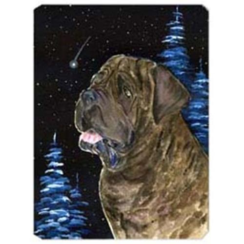 Carolines Treasures SS8463MP Starry Night Mastiff Mouse Pad