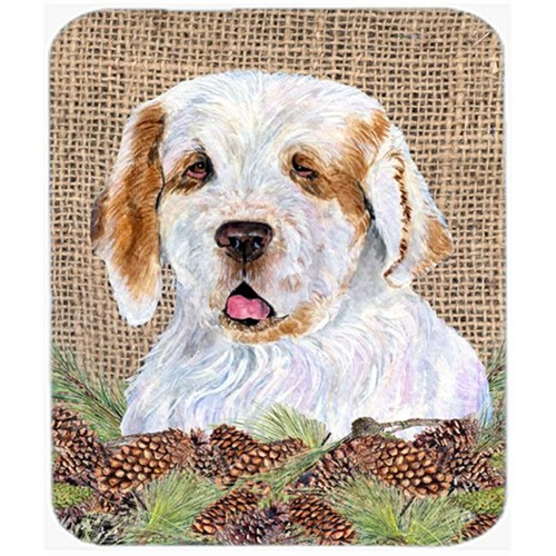 Carolines Treasures SS4089MP Clumber Spaniel Mouse Pad Hot Pad Or Trivet