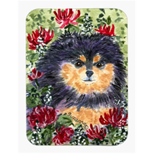 Carolines Treasures SS8727MP Pomeranian Mouse Pad & Hot Pad Or Trivet