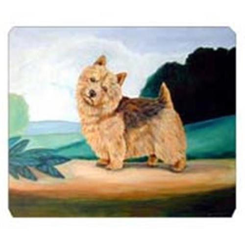 Carolines Treasures 7519MP 8 x 9.5 in. Norwich Terrier Mouse Pad Hot Pad or Trivet