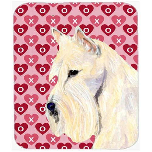 Carolines Treasures SS4530MP Scottish Terrier Hearts Love And Valentines Day Mouse Pad Hot Pad Or Trivet