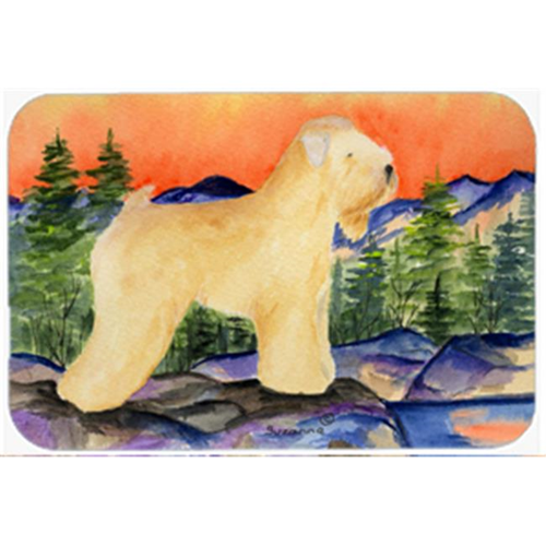 Carolines Treasures SS8182MP Wheaten Terrier Soft Coated Mouse Pad Hot Pad & Trivet