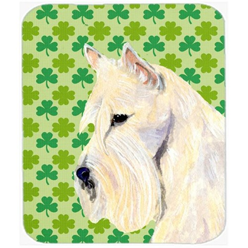 Carolines Treasures SS4461MP Scottish Terrier St. Patricks Day Shamrock Mouse Pad Hot Pad Or Trivet