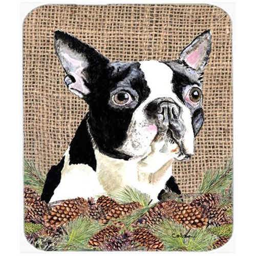 Carolines Treasures SC9051MP Boston Terrier Mouse Pad Hot Pad Or Trivet