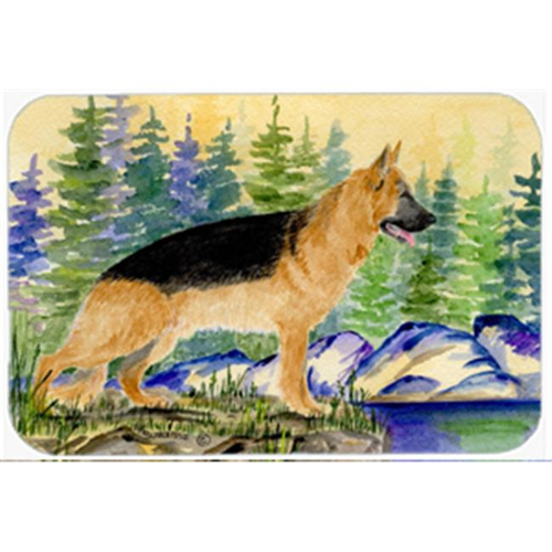 Carolines Treasures SS8129MP German Shepherd Mouse Pad Hot Pad & Trivet