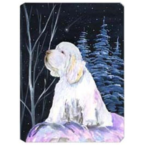 Carolines Treasures SS8346MP Clumber Spaniel Mouse Pad