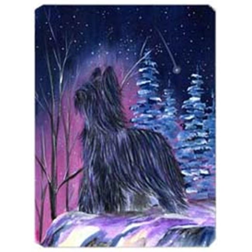 Carolines Treasures SS8366MP Starry Night Briard Mouse Pad