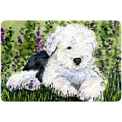 Carolines Treasures SS8840MP 9.25 x 7.75 in. Old English Sheepdog Mouse Pad Hot Pad Or Trivet