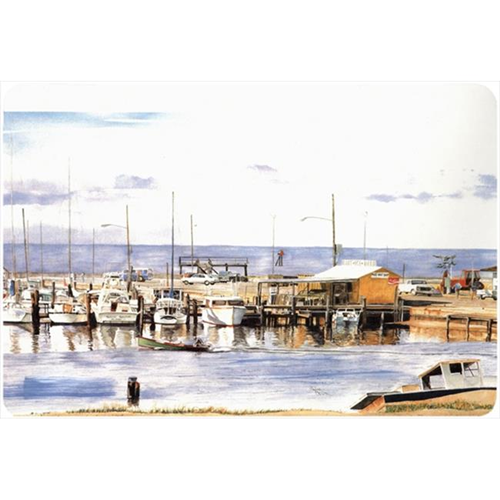 Carolines Treasures 1006MP 9.25 x 7.75 in. Pass Bait Shop Mouse Pad Hot Pad Or Trivet