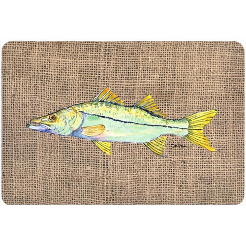 Carolines Treasures 8772MP 9.25 x 7.75 in. Fish - Snook Mouse Pad Hot Pad Or Trivet