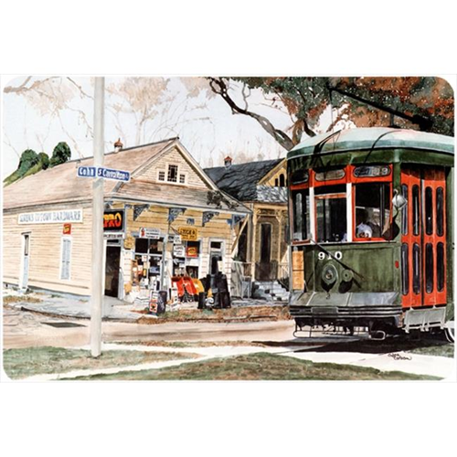 Carolines Treasures 8108MP 9.25 x 7.75 in. New Orleans Streetcar Mouse Pad Hot Pad Or Trivet