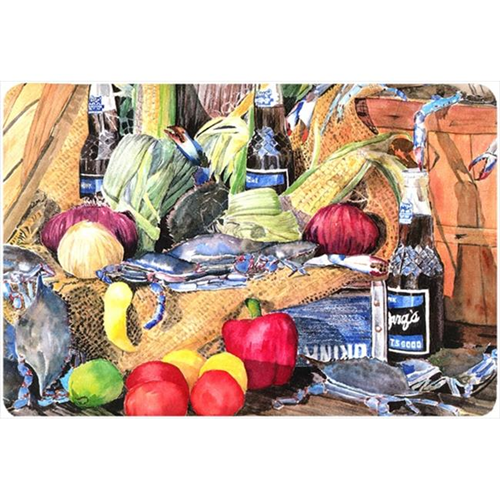 Carolines Treasures 8538MP 9.25 x 7.75 in. Barqs and Crabs Mouse Pad Hot Pad Or Trivet