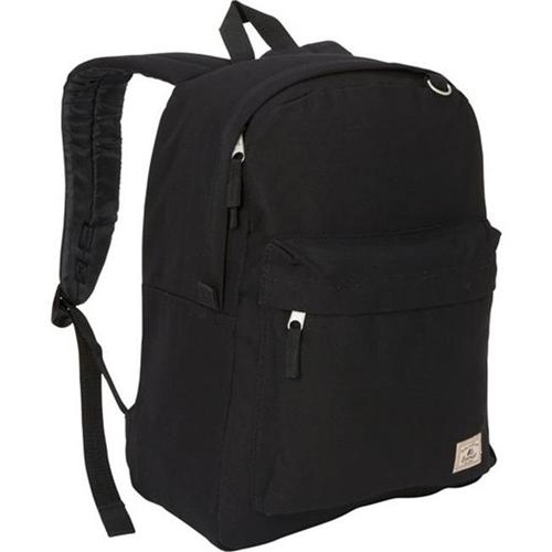 Everest CTBP2045CR-BK Classic Laptop Canvas Backpack - Black