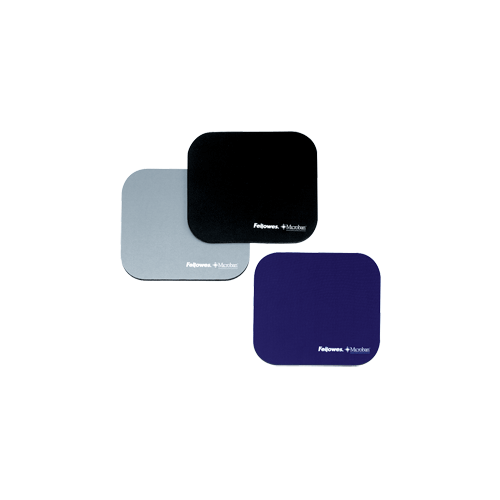 Fellowes Anti Bacteria Mouse Pad Black 5933901 Pack Of 6
