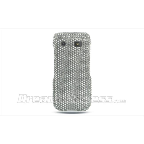 DreamWireless FDBB9100SL Blackberry 9100 Full Diamond Case Silver