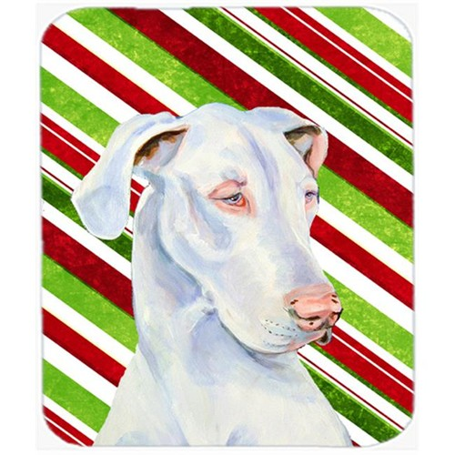 Carolines Treasures LH9221MP Great Dane Candy Cane Holiday Christmas Mouse Pad Hot Pad Or Trivet