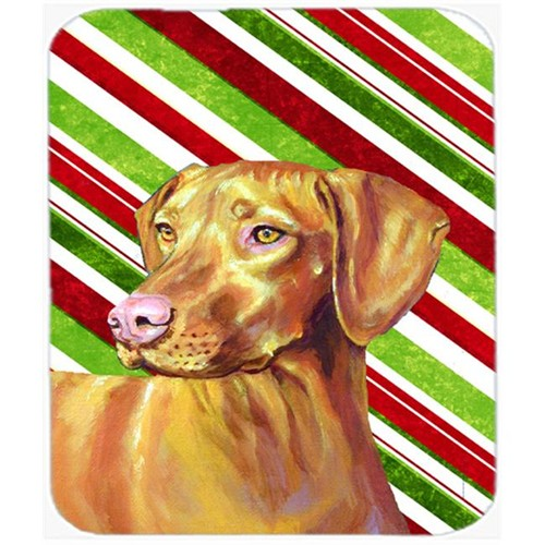 Carolines Treasures LH9235MP Vizsla Candy Cane Holiday Christmas Mouse Pad Hot Pad Or Trivet