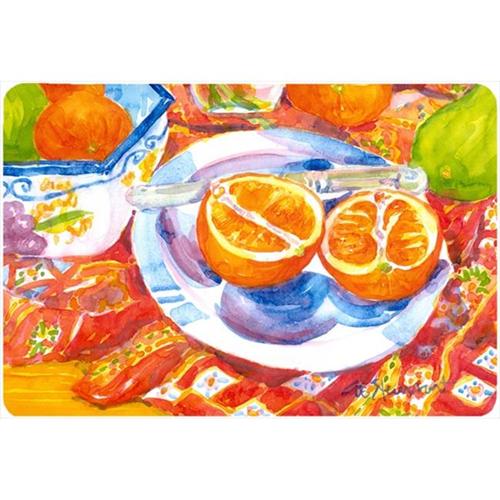 Carolines Treasures 6035MP Florida Oranges Sliced For Breakfast Mouse Pad Hot Pad Or Trivet