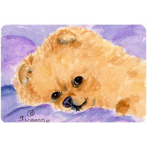 Carolines Treasures SS8834MP Pomeranian Mouse pad hot pad or trivet