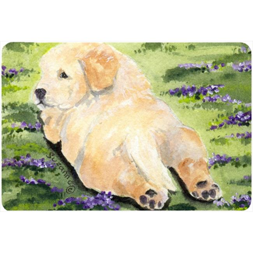 Carolines Treasures SS8833MP Golden Retriever Mouse pad hot pad or trivet