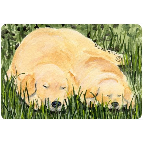 Carolines Treasures SS8838MP Golden Retriever Mouse pad hot pad or trivet