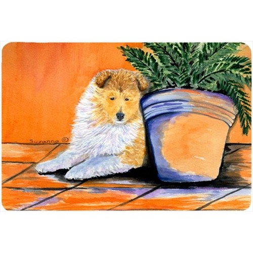 Carolines Treasures SS8667MP Sheltie Mouse pad hot pad or trivet