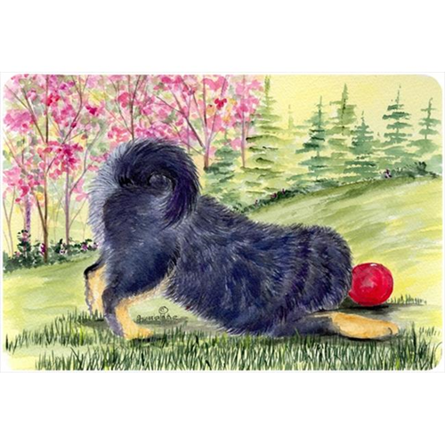 Carolines Treasures SS8612MP Tibetan Mastiff Mouse pad hot pad or trivet