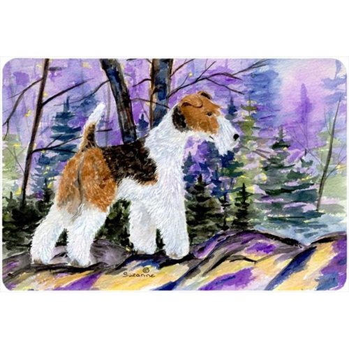 Carolines Treasures SS8630MP Fox Terrier Mouse pad hot pad or trivet