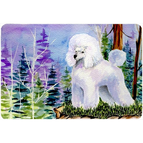 Carolines Treasures SS8639MP Poodle Mouse pad hot pad or trivet