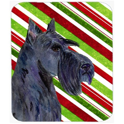 Carolines Treasures SS4598MP Scottish Terrier Candy Cane Holiday Christmas Mouse Pad Hot Pad Or Trivet