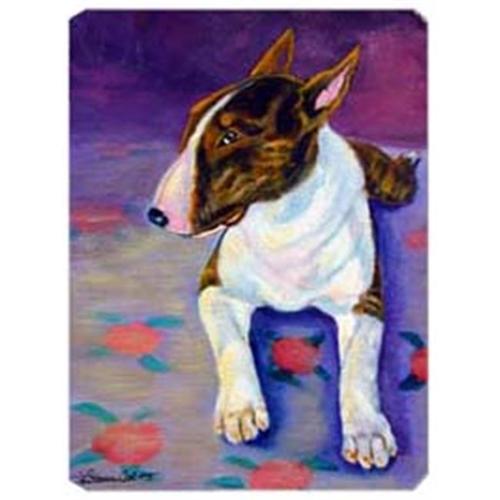 Carolines Treasures 7287MP 8 x 9.5 in. Bull Terrier Mouse Pad Hot Pad or Trivet