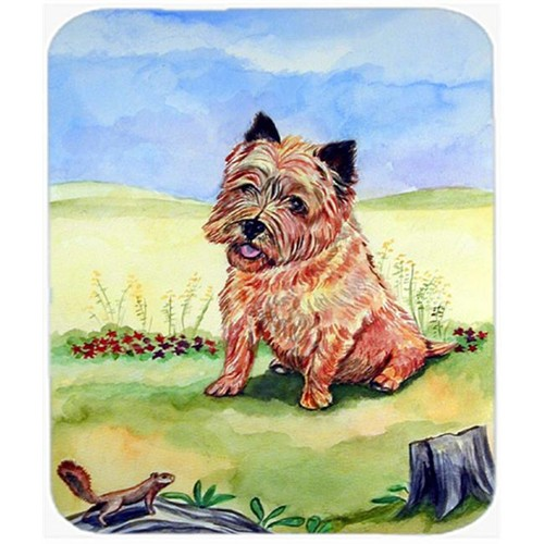 Carolines Treasures 7017MP 9.5 x 8 in. Cairn Terrier and the chipmunk Mouse Pad Hot Pad or Trivet