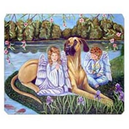 Carolines Treasures 7507MP 8 x 9.5 in. Angels with Great Dane Mouse Pad Hot Pad or Trivet