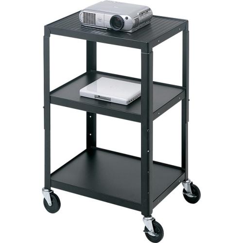 Bretford A2642Ns Av Notebook & Proj Cart- Adj Top Shelf