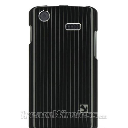 DreamWireless CASAMI897BKLN Samsung I897 & Captivate Crystal Case Black Line