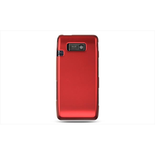 DreamWireless CRLGVS750RD LG VS750 Fathom Rubber Case Red