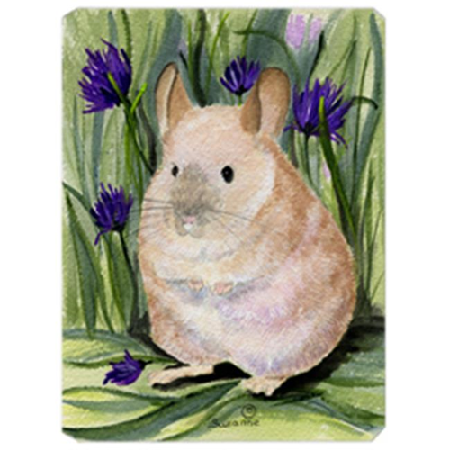 Carolines Treasures SS8206MP 9.5 x 8 in. Chinchilla Mouse Pad Hot Pad Or Trivet