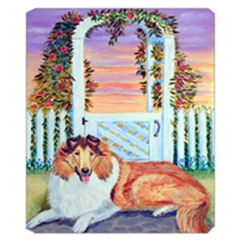 Carolines Treasures 7147MP 8 x 9.5 in. Collie Mouse Pad Hot Pad Or Trivet
