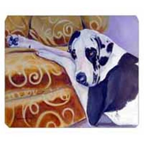 Carolines Treasures 7162MP 8 x 9.5 in. Harlequin Natural Great Dane Mouse Pad Hot Pad Or Trivet