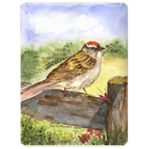 Carolines Treasures KR9019MP 9.5 x 8 in. Bird - Chipping Sparrow Mouse Pad Hot Pad Or Trivet