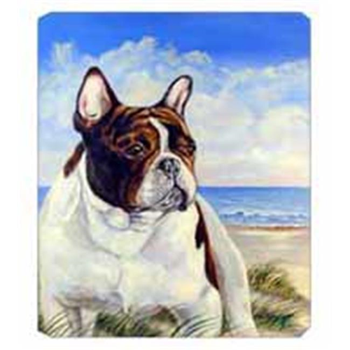 Carolines Treasures 7171MP 8 x 9.5 in. French Bulldog at the Beach Mouse Pad Hot Pad Or Trivet