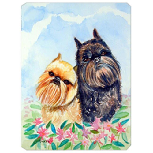 Carolines Treasures 7179MP 8 x 9.5 in. Brussels Griffon Mouse Pad Hot Pad Or Trivet